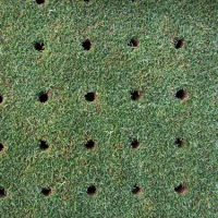 lawn-aeration-holes