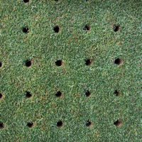 lawn-aeration-holes